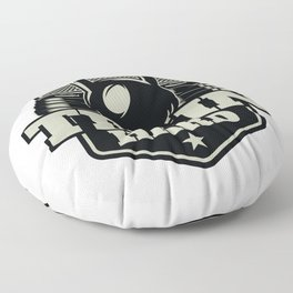 Train Hard Floor Pillow