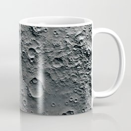 Moon Surface Coffee Mug