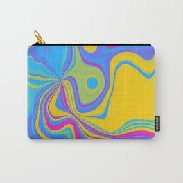 Pansexual Pride Abstract Mixed Colors Carry-All Pouch