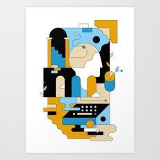 Abtraction III Art Print