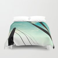 bridge Duvet Covers featuring *Bridge* by Sybille Rotondo Photography