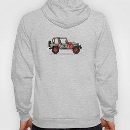 Jurassic Park Jeep Hoody
