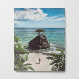 Bingin Beach Metal Print