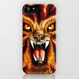 Werewolf iPhone Case