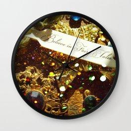 Believe in Fairytales Wall Clock