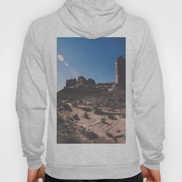 Hiking path in Arches National Park Hoody