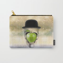 Magritte Skull Carry-All Pouch