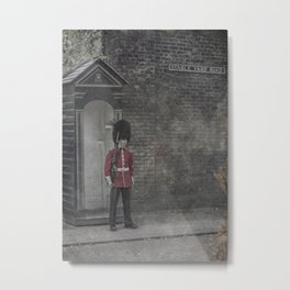 Queen's Guard Metal Print