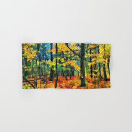 Autumn Woods Hand & Bath Towel