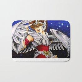 Saint Seiya fan art Bath Mat