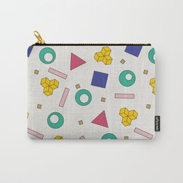 Memphis Pattern #5 Carry-All Pouch