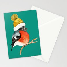 Christmas Bird Bullfinch Stationery Cards