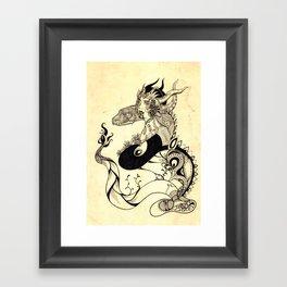 Serpent King Framed Art Print