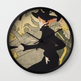 Divan Japonais Wall Clock