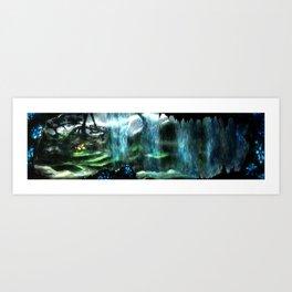 Metroid Metal: Tallon Overworld- Where it All Begins Art Print