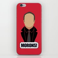 crowley iPhone & iPod Skins featuring 4 Crowley by Alice Wieckowska
