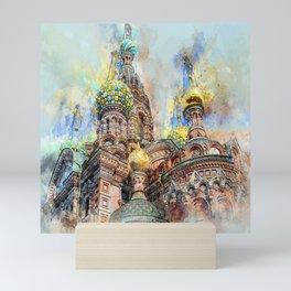 RUSSIA F88 Mini Art Print
