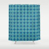 indigo Shower Curtains featuring Indigo  by Laura Ruth