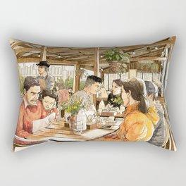 Farm Cafe Rectangular Pillow