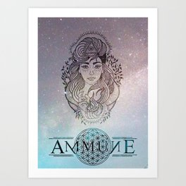 TyPaige Ammune Design Art Print