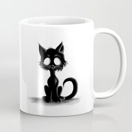 Creepy Cat Coffee Mug