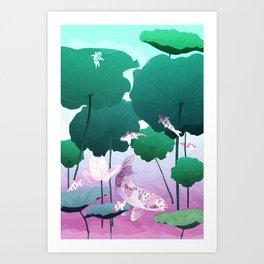 River of Gods Art Print
