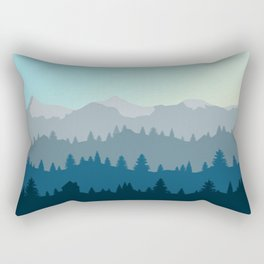 Face This Mountain (No Text) Rectangular Pillow
