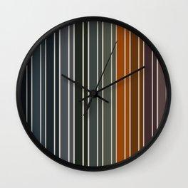 Color Study Wall Clock