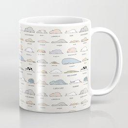 The Moody Animals (Colours) Coffee Mug