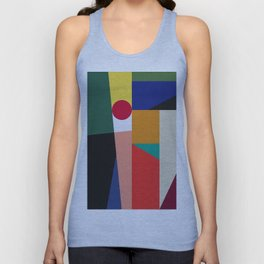 Abstract and geometric composition I Unisex Tank Top