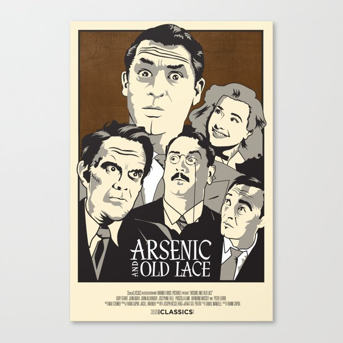 Arsenic and Old Lace Canvas Print