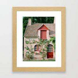 Rose Cottage Framed Art Print