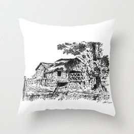 BAHAY KUBO 3 Throw Pillow