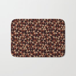 Colorful Triangles Pattern 2 Bath Mat