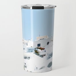 Lost in Santorini Greece Travel Mug