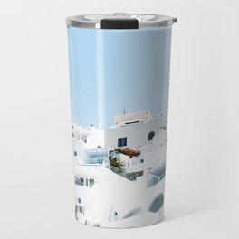 Lost in Santorini Greece Travel Mug