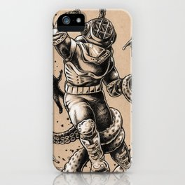 Danger Dive iPhone Case