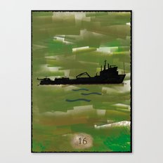 Lost - season 4 Canvas Print