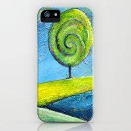 The Lollipop Tree iPhone Case