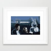 donnie darko Framed Art Prints featuring Donnie Darko by Brontor