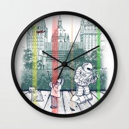 God Bless You, Kurt Vonnegut! Wall Clock