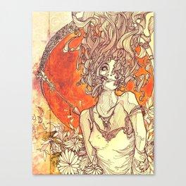Psyche & Cupid Canvas Print