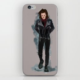 Harry biker jacket iPhone Skin