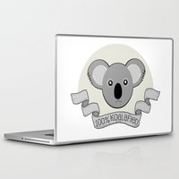 the 100 Laptop & iPad Skins featuring 100% Koalafied by Cute to Boot
