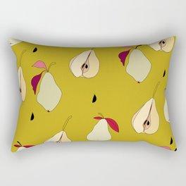 GREEN PEARS Rectangular Pillow