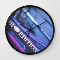 hercules Wall Clocks featuring Hercules Edition by KitsuneTea