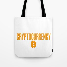Beware of A Woman Educated in Crypto Tote Bag