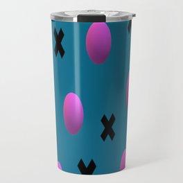 Exes and Spheres Travel Mug