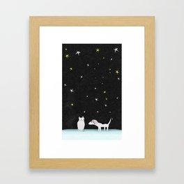 Schtick Night Framed Art Print