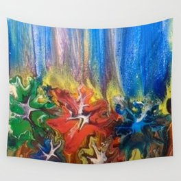 Pixie Dust Forest Wall Tapestry